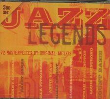 JAZZ LEGENDS - 3 CD SET - 72 MASTERPIECES BY ORIGINAL ARTISTS - NEW