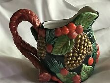 Fitz and Flyod China classic pitcher - collectible - pre-owned- no chips