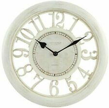 "Equity by La Crosse 20857 11.5"" White Floating Dial Wall Clock"