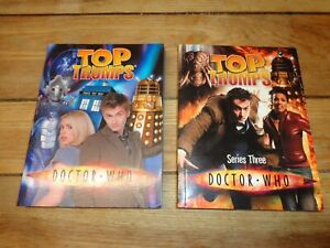 doctor who top trumps books x 2