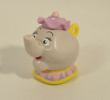 "RARE 1992 Pull & Go Mrs Potts 2.5"" McDonald's Europe Action Figure Beauty Beast"