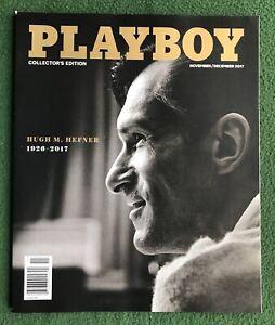 Playboy Nov Dec 2017 POM Ines Rau Allie Leggett Hugh Hefner Memorial Edition