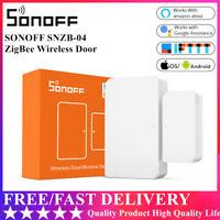 SONOFF SNZB-04 ZigBee Door Window Sensor Wireless Smart Home Detect Alarms DE&