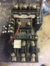 Used Allen Bradley 509-BCD Starter + Several 595 Aux Contacts