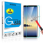 For Samsung Galaxy Note 8 Premium Tempered Glass Screen Protector Film 9H Clear