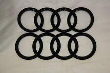 AUDI OEM Black Grille & Trunk Rings Emblem 2016+ TT, TTS, AND TTRS ZAW098010NDSP