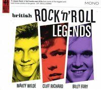 Various Artists - British Rock 'N' Roll Legends (CD) (2013)