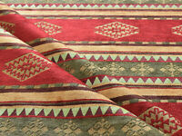 Kilim ethnic fabric upholstery tapestry southwestern Tucson Native red Mexican