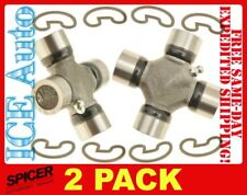 2 PACK - DANA SPICER 5-153X Universal Joints 1310 Series Greasable U-Joints USA