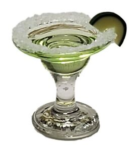 Miniature Dollhouse Margarita With Lime Slice 1:12 Scale New