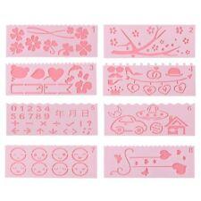 8PCS/SET Album Dekorativ Scrapbooking Layering Stencils Vorlage Prägung