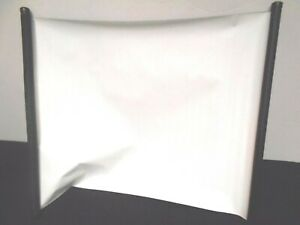 Portable Matte White Tabletop Projection Screen 22 x 29 1/2 In. w/stand