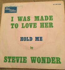 S.P 2 TITRES *STEVE WONDER*I WAS MADE TO LOVE HER REF FT 102 LUXE
