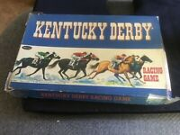 Vintage 1960 Whitman Kentucky Derby Racing Game