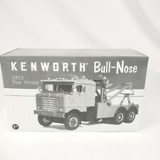 First Gear 19-2543 Tiger Paw 1953 Kenworth Bullnose Tow Truck 1/34 in Box