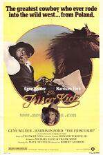 FRISCO KID Movie POSTER 27x40 Gene Wilder Harrison Ford Ramon Bieri Val Bisoglio