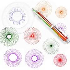 Spirograph Set Accessories Coloring Game Designs Interlocking Gears & Wheel_GG