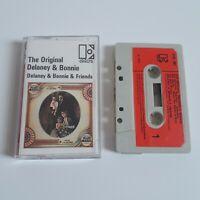 THE ORIGINAL DELANEY & BONNIE & FRIENDS CASSETTE TAPE 1969 PAPER LABEL ELEKTRA
