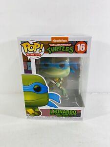Funko Pop! Retro Toys Teenage Mutant Ninja Turtles Leonardo New 2020 Tmnt Figure