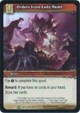 8x Orders from Lady Vashj - Betrayer 257/264 - Common NM WoW Archives