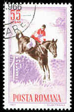 Scott # 1632 - 1964 - ' Horse Show Events, Jumping '