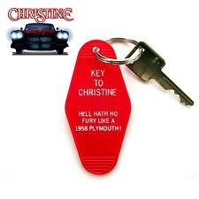 """Key To Christine"" horror movie Prop Key Tag Stephen King hot rod New"
