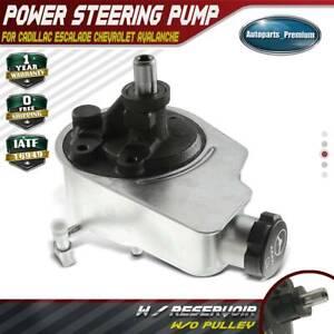 New Power Steering Pump 20-8704 For Escalade Silverado Sierra LIFETIME WARRANTY
