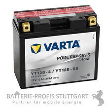 VARTA Motorrad Batterie AGM YT12B-4 YT 12B-BS 12V 12Ah  inkl. Säurepack 512901