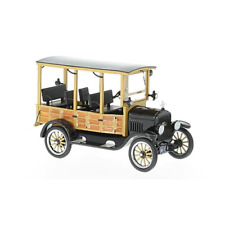 FORD MODEL T WOODY 1925 BLACK 1:43 Neo Scale Models Auto d'Epoca Die Cast
