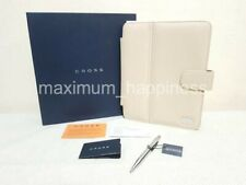 CROSS CLASSIC CENTURY LEATHER IPAD CASE (SAND) TECH2 PEN #1 - BN - AUTHENTIC