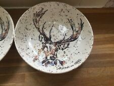 More details for royal stafford - arthur the stag - pasta bowl - brand new