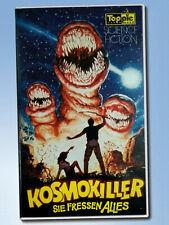 KOSMOKILLER sie fressen alles VHS Toppic HORROR The Deadly SpawnVHS uncut