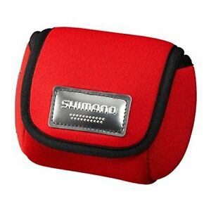 Shimano reel case spool guard single PC-018L red S 866622 from Japan New A92172
