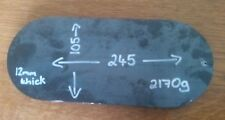 12mm Mild Steel Plate 245 x 105 x 12