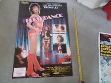 "RARE ESSEX ADULT MOVIE POSTER FROM 1983, ""FLESHDANCE"" .................."