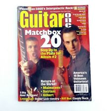 Guitar One Magazine March 2000 Matchbox 20 Yngwie Malmsteen Korn 311 Seven Dust