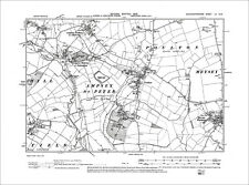 Ampney St Mary, Ampney St Peter, Poulton, Old Map Gloucestershire 1903: 52SW