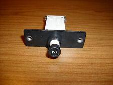 Klixon Circuit Breaker 2 amp w/ Mounting Panel