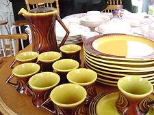 Beauceware -1969-Ceramic de Beauce-37 pieces Dinner Set-Carillon-Rare+Unique