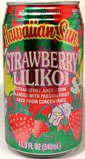 """FULL 11½oz Can """"Taste of Hawaii"""" Hawaiian Sun Natural """"Strawberry-Lilikoi"""" Juice"""