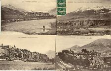 Lot 4 cartes postales anciennes EMBRUN 3