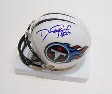 Darius Reynaud Signed Tennessee Titans Mini Helmet w/COA 2013 AFC