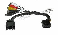 AV CABLE VIDEO IN OUT BMW MK2 MK3 MK4 WITH TV TUNER REAR CAMERA ZLA-MK-PNP