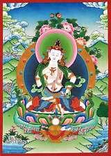 Dorje Sempa Vajrasattva Thangka Buddhism Vajra Buda Pintura Tíbet Tangka