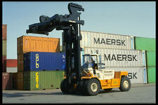 372078 Container Terminal A4 Photo Print