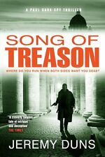 JEREMY DUNS ___  SONG OF TREASON ___ BRAND NEW __ FREEPOST UK