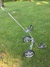VTG Bag Boy Golf Cart Foldable Aluminum Push Pull Caddy