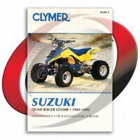 1985-1992 Suzuki LT250R Repair Manual Clymer M380-2 Service Shop Garage