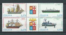 ITALIE - 1977 YT 1311 à 1314 bateaux bloc - TIMBRES NEUFS** MNH LUXE