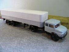 1/87 Brekina MB LS 1620 PP-SZ grau/schwarz 81108